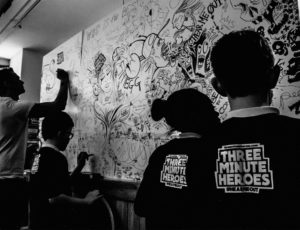 Three Minute Heroes Album Launch 010